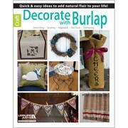 "Leisure Arts® ""Decorate With Burlap"" Book"