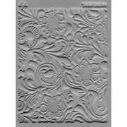 "Lisa Pavelka 4 1/4"" x 5 1/2"" Individual Texture Stamp, Tooled Leather"