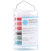 "Martha Stewart 1 3/4"" x 3/4"" Vintage Girl Ink Pad Multipack, Floral"