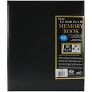 "Pioneer® Postbound Album, 8 1/2"" x 11"", Black"