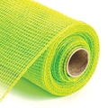 Canvas Corp™ 4in. x 20 yds. Deco Mesh Ribbon, Lime Green