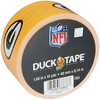 ShurTech™ 1.88in. x 10 yds. Printed NFL Duck Tape, Green Bay Packers