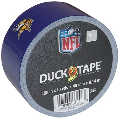 ShurTech™ 1.88in. x 10 yds. Printed NFL Duck Tape, Minnesota Vikings