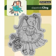 """Penny Black® 5"""" x 6"""" Cling Rubber Stamp, Kisses"""