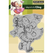 "Penny Black® 4"" x 6"" Cling Rubber Stamp, You Are A Peach"
