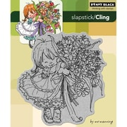 """Penny Black® 5"""" x 6"""" Cling Rubber Stamp, Thanks A Bunch"""