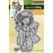"""Penny Black® 4"""" x 6"""" Cling Rubber Stamp, Wishing You Well"""