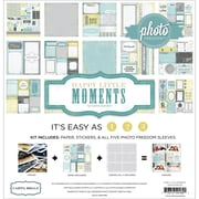 Echo Park Paper Photo Freedom Happy Little Moments Collection Kit, 12 x 12