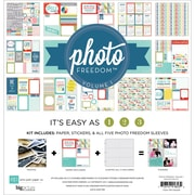 Echo Park Paper Photo Freedom Volume 1 Collection Kit, 12 x 12