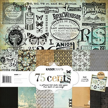 Kaisercraft 12in. x 12in. Paper Pack, 75 Cents