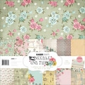 Kaisercraft 12in. x 12in. Paper Pack, Needle & Thread