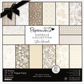Docrafts™ 12in. x 12in. Papermania Paper Pack, Lincoln Linen, 32/Pack