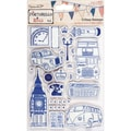 Docrafts™ 5in. x 7in. Papermania Cling Urban Stamp, Vintage