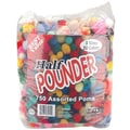 Pepperell Assorted Poms Standard Half Pounder, 750/Pack