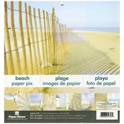 "Paper House® 12"" x 12"" Double-Sided Paper Pad, Beach"