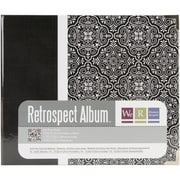 We R Memory Keepers™ Printed 3 Ring Album, 6 x 6, Moroccan Black