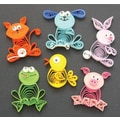 Quilled Creations Quilling Kit, Animal Buddies