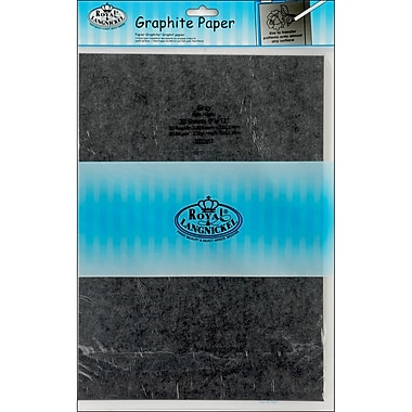 Royal Brush® 9in. x 13in. Gray Transfer Paper, 20 Sheets