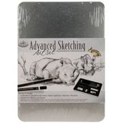 Royal Brush® Advanced Sketching Art Set With Medium Tin