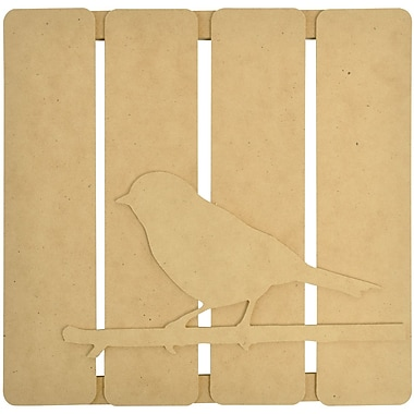 Kaisercraft Beyond The Page MDF 3D Wall Art, Bird on Twig