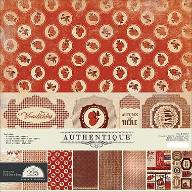 Authentique™ Paper Seasons Autumn Collection Kit, 12in. x 12in.