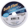 Soft Flex 0.014in. Beading Wire, Satin Silver