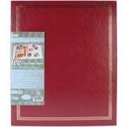 "Pioneer® Postbound Jumbo Album, 11"" x 14"", Burgundy"