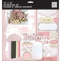 Me & My Big Ideas Baby Girl Page Kit, 12in. x 12in.