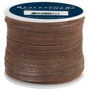 Silver Creek SOS25-2003 Brown Suede Spool, 25 yd. x 1/4""