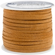 "Silver Creek SOS25-2004 Suede Toast Lace, 25 yd. x 0.13""W, 8/Pack"