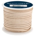 Silver Creek 1/8in. x 25 yds. Suede Lace, Beige