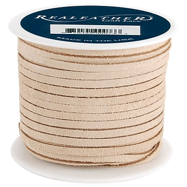 Silver Creek 1/8in. x 25 yds. Suede Laces