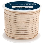 "Silver Creek SOS25-2008 Suede Beige Lace, 25 yd. x 0.13""W, 8/Pack"