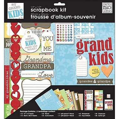 Me & My Big Ideas My Grandkids Multi Page Kit, 12