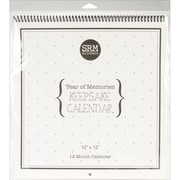 SRM Press 12 x 12 Keepsake Calendar