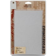 "Advantus™ Tim Holtz® Idea-Ology Paper Grungeboard Basics, 7"" x 5"", 10/Pack"