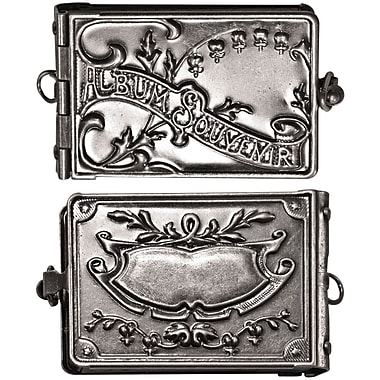 Advantus™ Tim Holtz® 2in. x 1in. Idea-Ology Locket Book, Antique Nickel