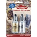 Ranger Tim Holtz® Adirondack Alcohol Ink Metallic Mixatives, Gold/ Silver