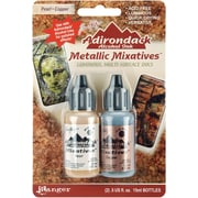 Ranger Tim Holtz® Adirondack Alcohol Ink Metallic Mixatives, Pearl/ Copper