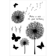 Wow Embossing Powder WOW! 4 x 5 3/4 Clear Stamp Set, Make A Wish