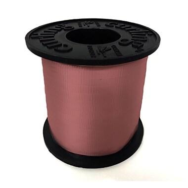 Ruban à friser 3/16 po, rose, rouleau de 500 verges