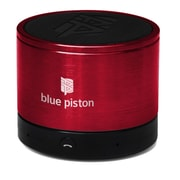 Logiix Blue Piston Wireless Bluetooth Speaker, Red, LGX-10614