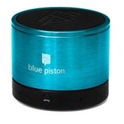 Logiix Blue Piston Wireless Bluetooth Speaker, Turquoise,  LGX-10612
