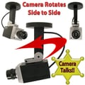 Trademark Global® 72-3710 Simulation Security Camera With Talking Warnings