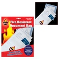 Trademark Global® 9in. x 12in. Fire Resistant Document Bag