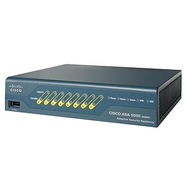 Cisco™ ASA 5500 Series 50-User Firewall Edition Bundle, 10 IPsec VPN peers
