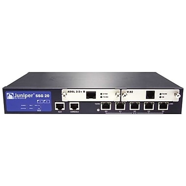 Juniper® SSG-20 Series Secure Services Gateway With Serial Backup Interface, 128 MB
