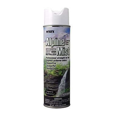 Misty® 10 oz. Hand-Held Odor Neutralizer, Alpine Mist