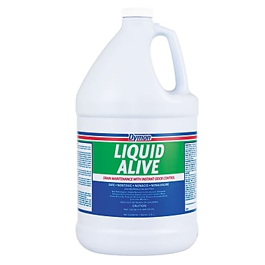 Dymon® Liquid Alive® 1 Gallon Bacteria Producing Enzyme, Neutral Scent, 4/Case