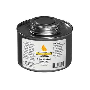 Fancy Heat® 6 Hrs 8 oz. Burner Chafing Fuel Can With Twist Cap Wick